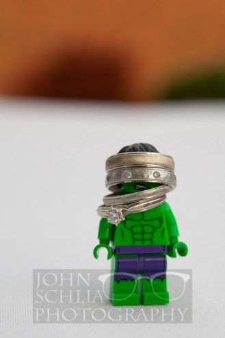 Incredible Hulk Wedding Ring