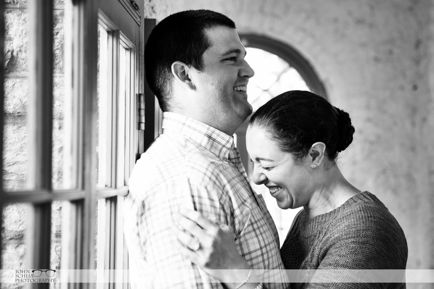 Sonnenberg Garden Engagement – Sarah and Nicholas
