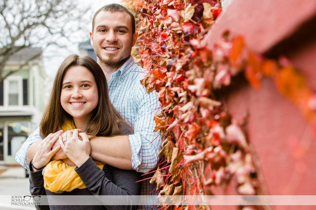 SUNY Geneseo Engagement Session – Laura and Matt