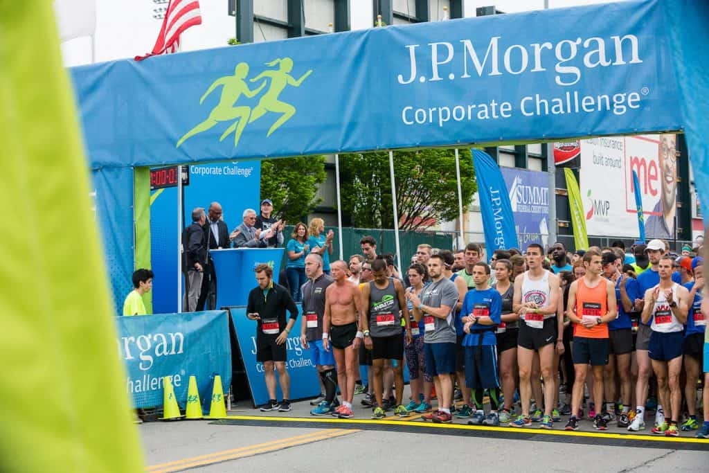 Event photography for Chase Corporate Challenge.