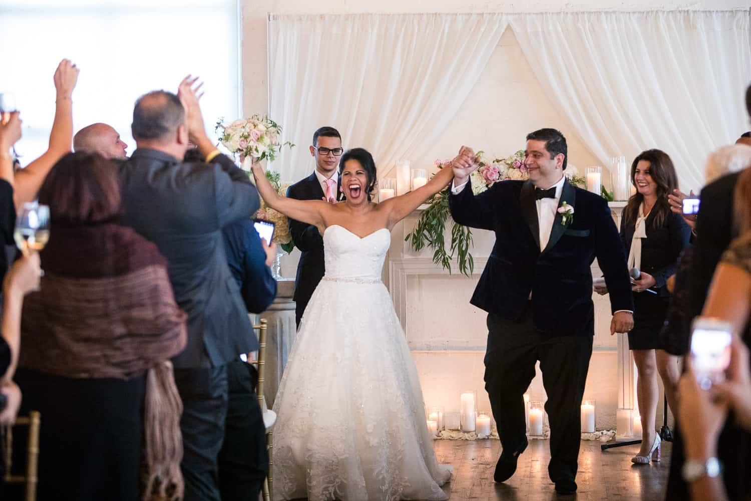 Joy and celebration at an Arbor Loft Wedding.