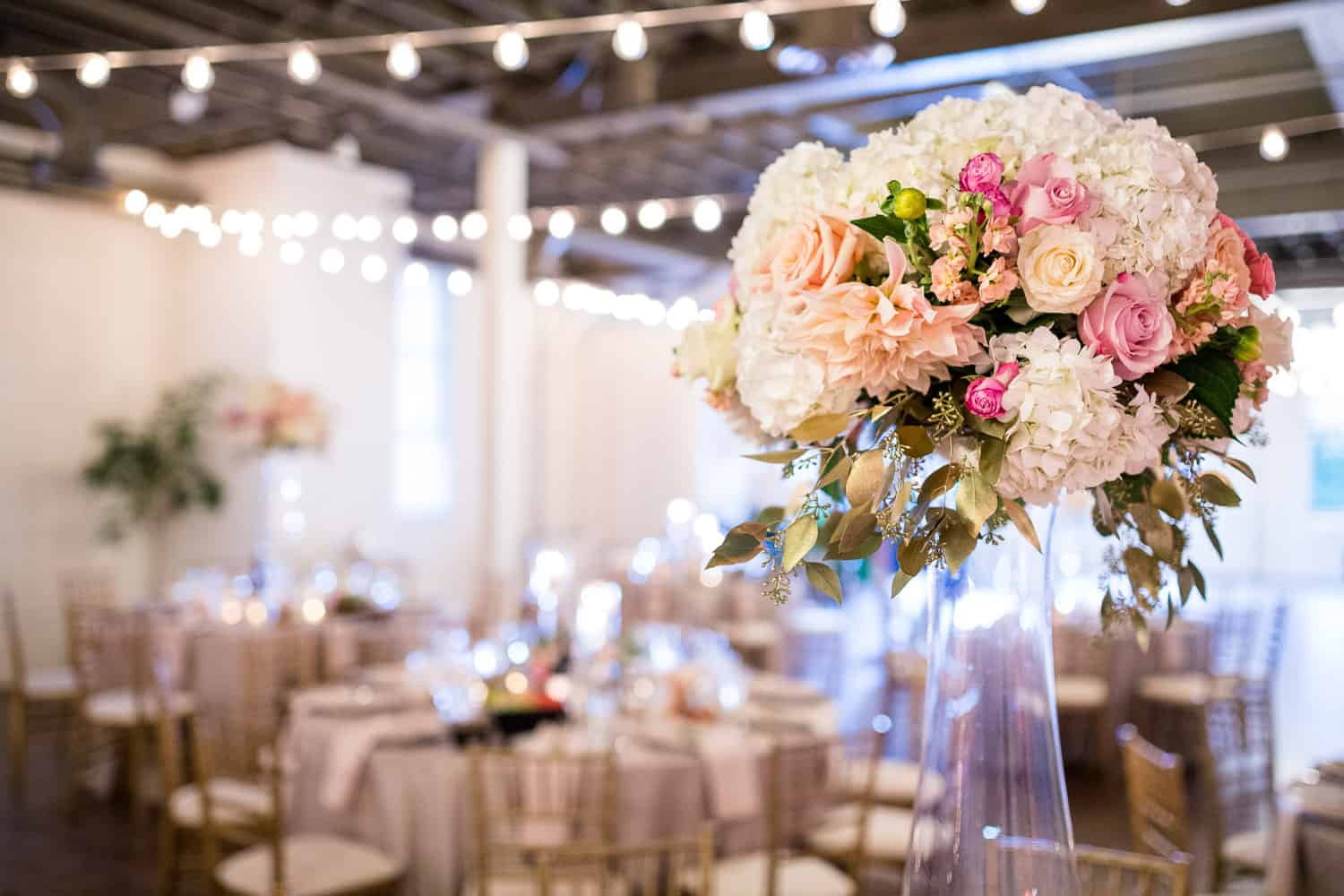 Wedding flowers at Arbor Loft by Stacy K.