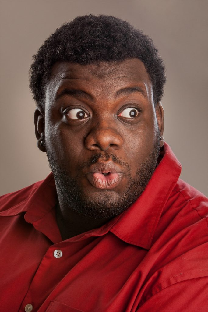 Headshot of Rochester comedian Uncle Trent